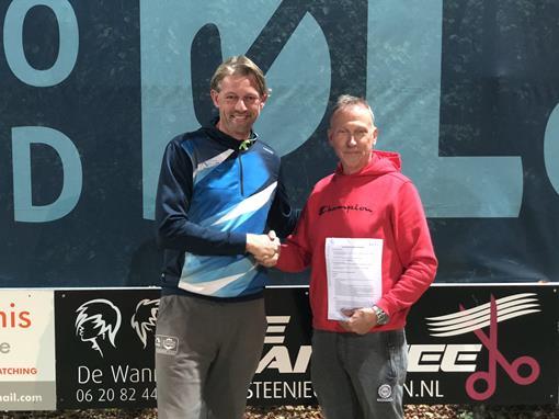 Nieuw, tennisschool Koning